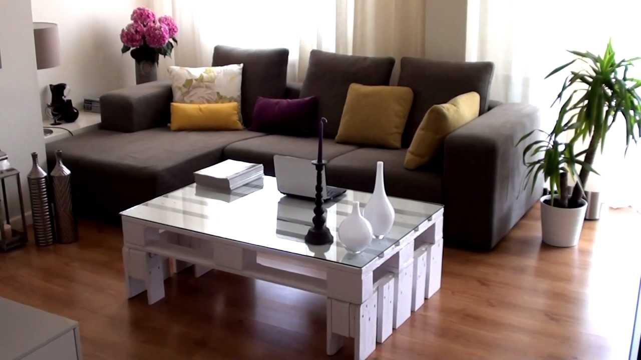 Mesa de centro con palet  YouTube