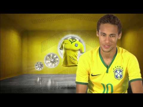 NIKE Unveils Brazil's New National Team Kit For 2014