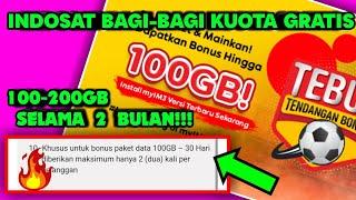 KUOTA GRATIS 100GB‼️|cara dapat kuota gratis indosat screenshot 2