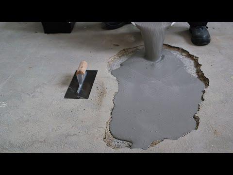 Mortier à prise rapide | Réparer rapidement un trou dans le béton | Mortier Coulable