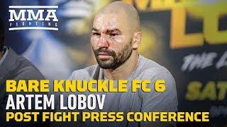 BKFC 6: Artem Lobov Post-Fight Press Conference - MMA Fighting