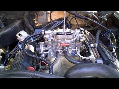 how to install choke and a carburetor youtube rh youtube com edelbrock electric choke wire size edelbrock 1406 electric choke install