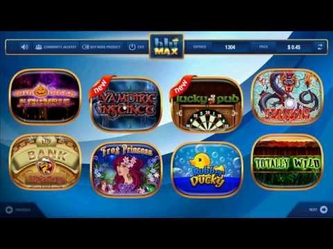 Bluemax Games   Game Menu