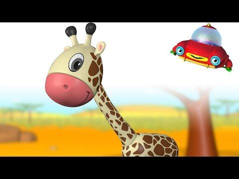 TuTiTu Animals | Animal Toys and Songs for Children | Giraffe