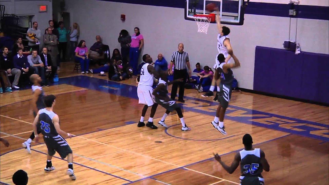 Trevecca Men's Basketball   Christopher Elliott Slam Dunk ...