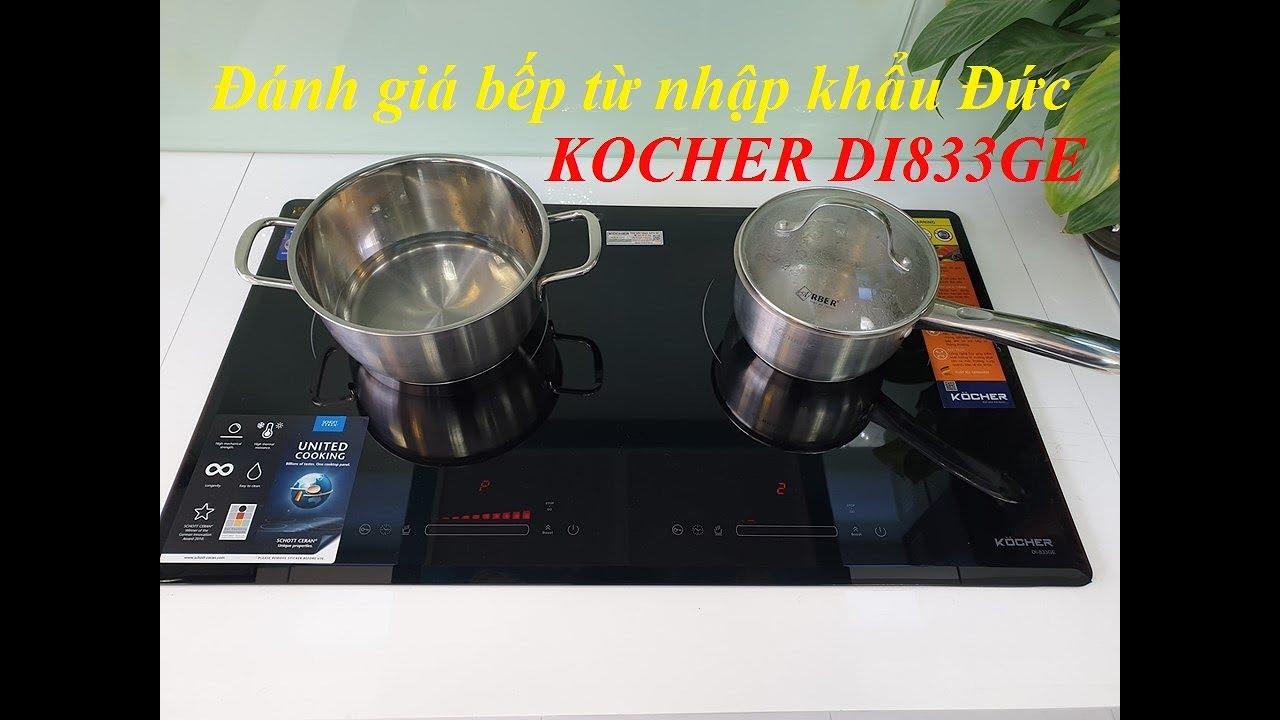 Bếp từ Đức Kocher DI-833GE