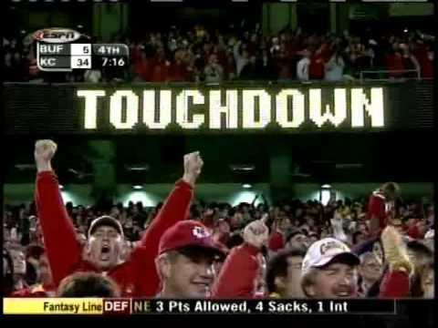 Priest Holmes 2003 Touchdowns