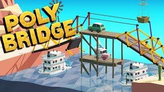 The Best BRIDGES EVER! - Polybridge Gameplay