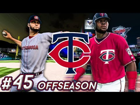 MLB The Show 18 - TWINS FRANCHISE OFFSEASON LIVE! Ep.45