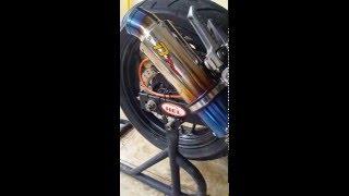 Knalpot B Pro Silencer Titanium Fullsystem Ninja 250 FI