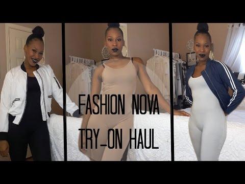 7408104e06a1 Youtube Video · Fashion Nova Try-On Haul