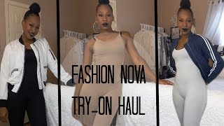 Fashion Nova Try-On Haul | SummerTime Fine (Jumpsuits)