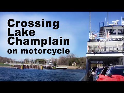 Lake Champlain Ferry - Plattsburgh, NY to Grande Isle, VT.
