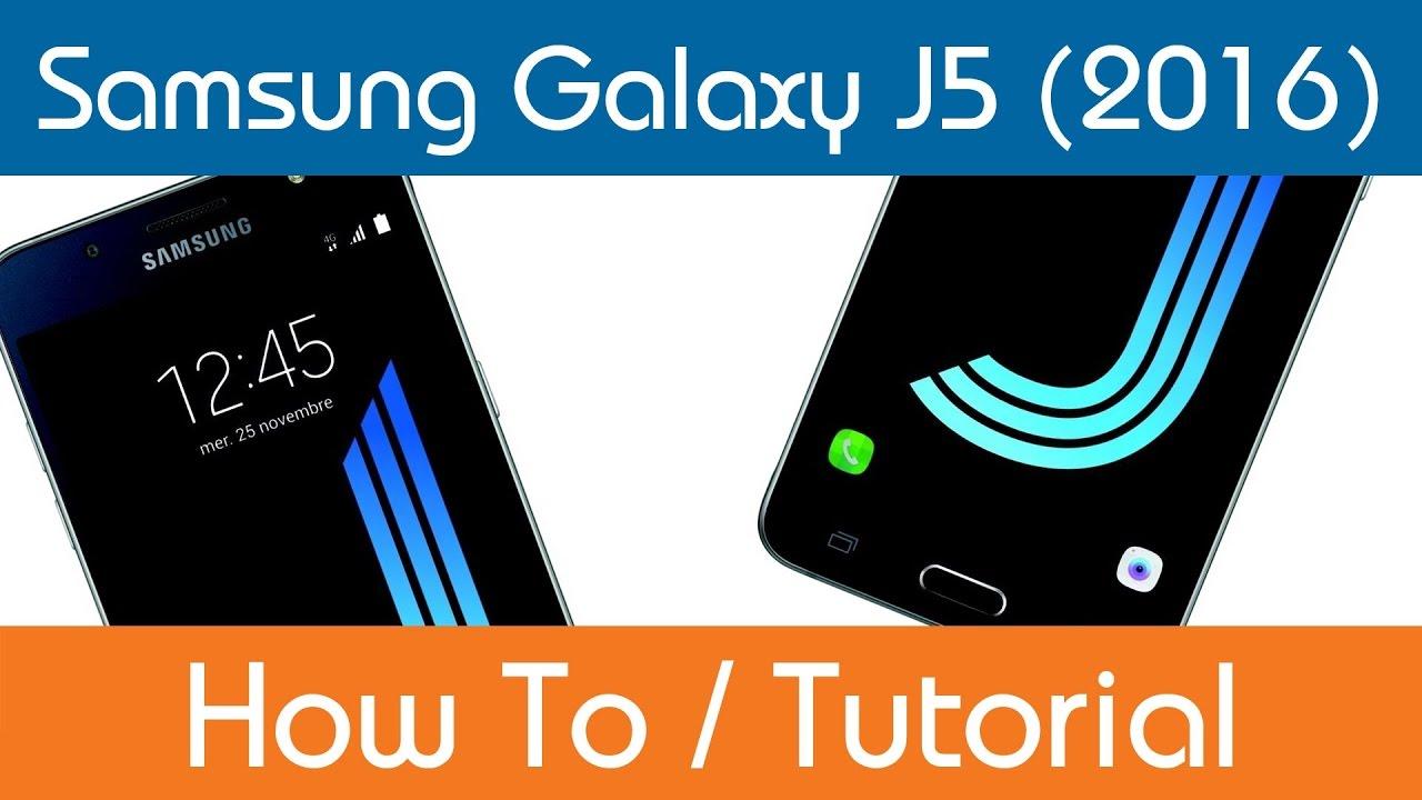 How To Set A Ringtone Samsung Galaxy J5 Youtube