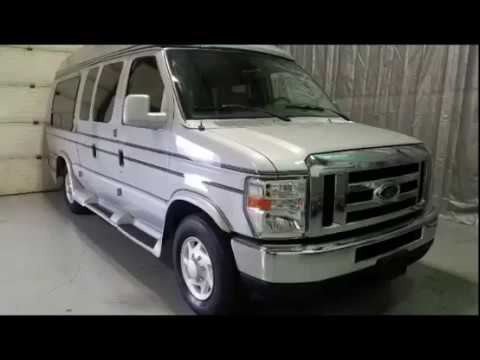 2008 Ford Econoline E 350 Super Duty Extended Wheelchair Conversion Hightop Van Luxury For Sale
