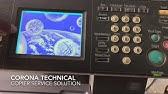 Konica Minolta C-2152 code and solution - YouTube