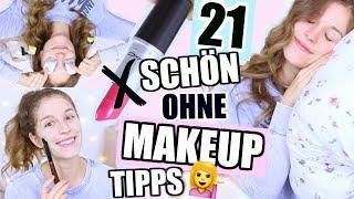 OHNE MAKEUP GUT AUSSEHEN!🚫💄Die 21 besten BEAUTY TRICKS! ♡ BarbaraSofie