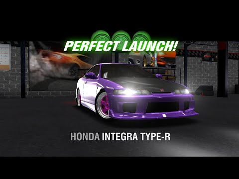 Racing Rivals Honda Integra Type-R Perfect Launch Tutorial