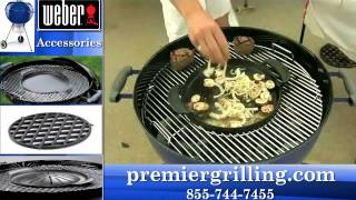 Weber One Touch Cooking Demo Premier Grilling Plano, TX