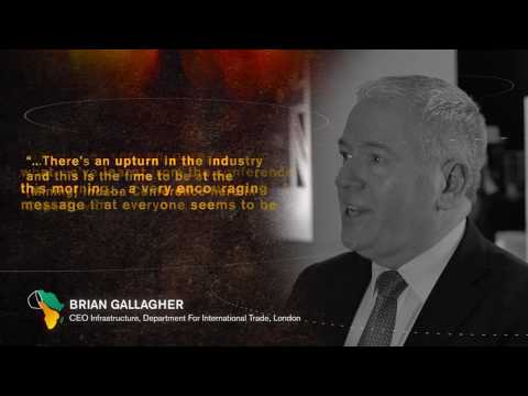 Mining Indaba 2017: Brian Gallagher - CEO Infrastructure, Department For International Trade, London