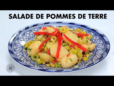 choumicha-:-salade-de-pommes-de-terre- -شميشة-:-سلطة-البطاطس-بالزيتون-و-الفلفل