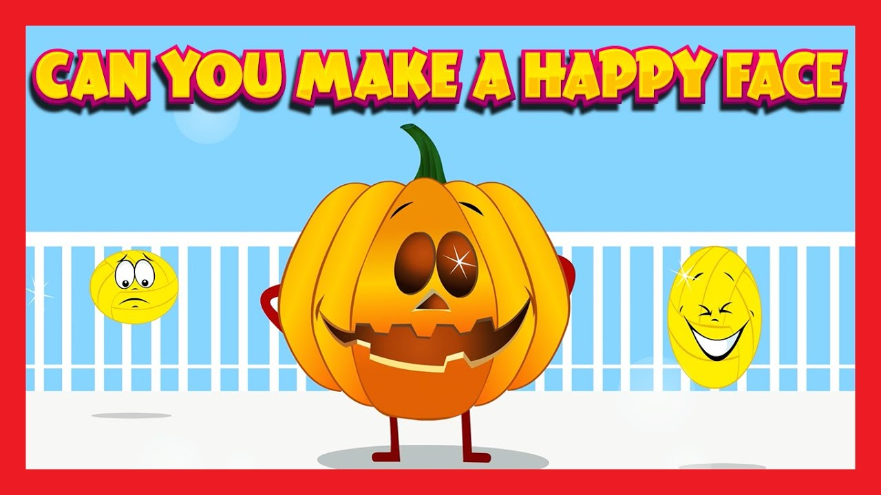Can You Make A Happy Face Song Jack O Lantern Youtube