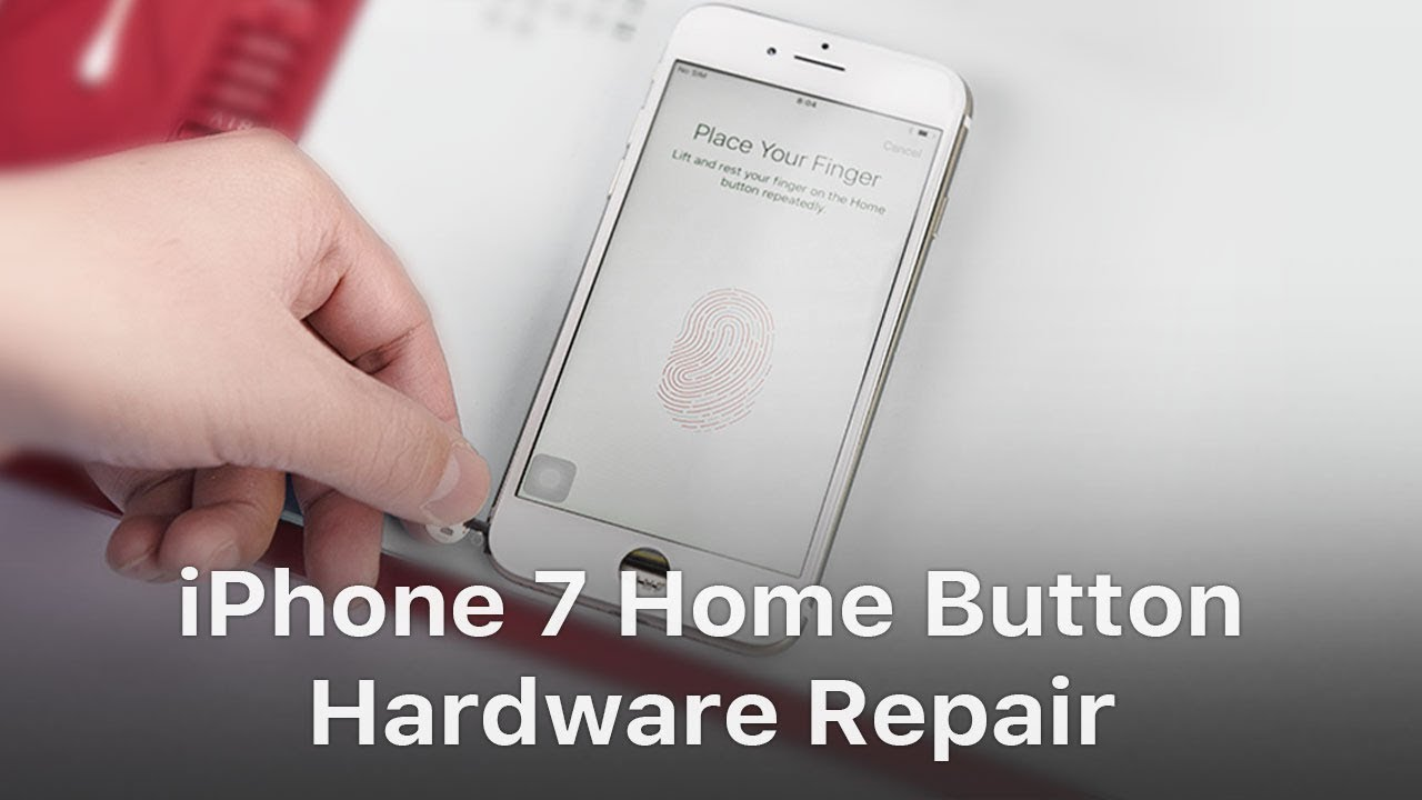 huge discount 98e7f 39e8b iPhone 7 Touch ID / Home Button Hardware Repair