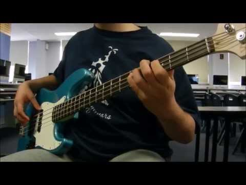 ChalkZone - Intro | Bass Cover