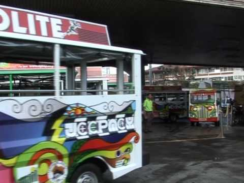 Philippines' dirty jeepneys starting to turn green