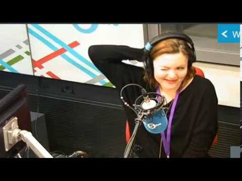 Holliday Grainger  on Radio Five Live February 6th 2014
