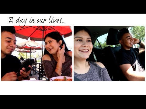 OUR FIRST VLOG/A DAY IN OUR LIVES