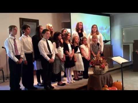 Middletown Adventist School Choir song #1