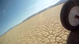 Ivanpah Dry Lake Land Sailing