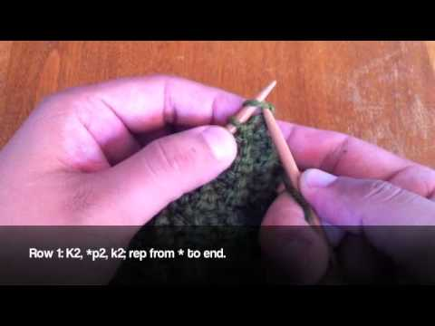 How To Knit The Box Stitch Youtube