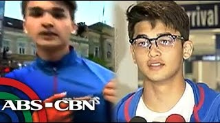 Slam dunk king Kobe Paras back in Manila