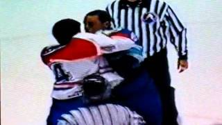 terry ryan vs bryce salvador ahl hockey fights fights 1998 99