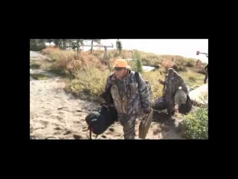 Babe Winkleman Caribou Hunting Canadian SubArctic Hunting Part 1