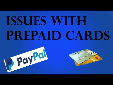 THE PROBLEM WITH PREPAID CARDS