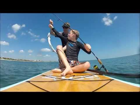 SUP Fishing in Melbourne Beach