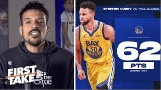 Matt Barnes STRONG REACTS Steph Curry silences doubters with career-high 62 points