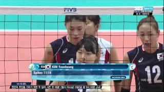 2014 InCheon AsianGames Women's Vollyball 20140930 [Korea vs Japan] Semi Final SBS