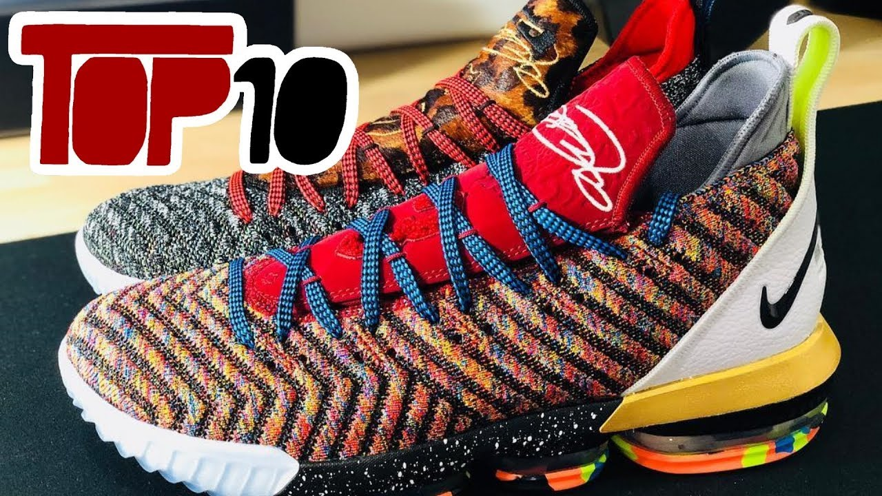 Top 10 Worst Basketball Shoe Colorways Of 2018 - YouTube df44c06f331f