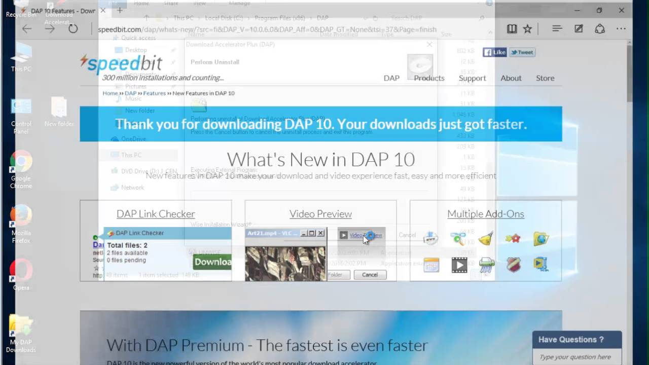 Uninstall Download Accelerator Plus 10 Manually