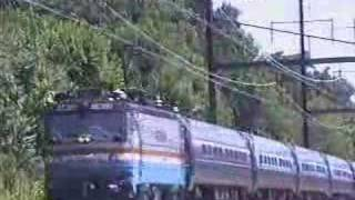Amtrak Acela Express 2155 and Regional 95