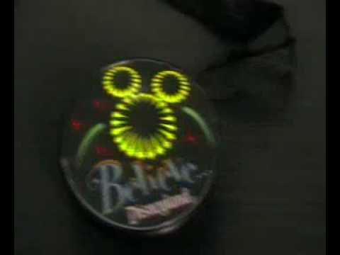 el flashing badge