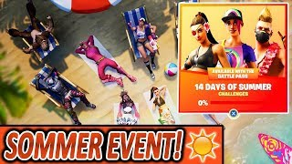 JETZT NEUES SOMMER EVENT !!🌴🔥 JEDEN TAG NEUE WAFFEN, MODI, ITEMS 😱 | Fortnite Battle Royale