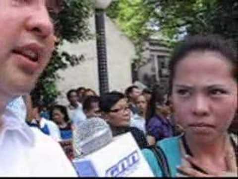 Sen. Allan Peter Cayetano Interview at Walk for Truth