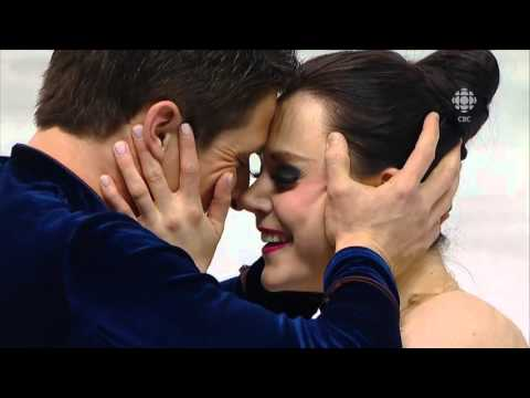 2013   Worlds   Dance   SD   Tessa Virtue & Scott Moir   The Waltz Goes On by Anthony Hopkins