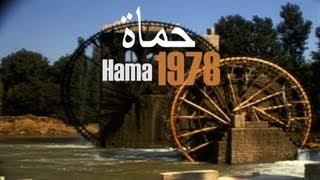 beautiful Hama 1978 - Syrien - Syria - نهر العاصي -  حماة