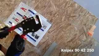 Просекатель для профиля гипсокартона от Knipex.(, 2014-09-14T19:16:21.000Z)